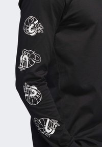 adidas Performance - LIL STRIPE CANNONBALL T-SHIRT - Longsleeve - black - 4
