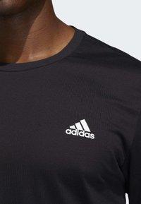 adidas Performance - LIL STRIPE CANNONBALL T-SHIRT - Longsleeve - black - 3