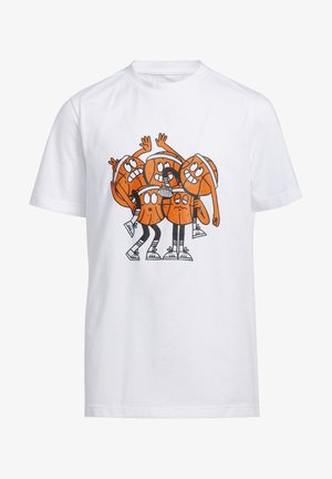 LIL STRIPE TEAM T-SHIRT - T-shirt imprimé - white