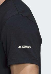 adidas Performance - TERREX ADVENTURE T-SHIRT - Printtipaita - black - 3