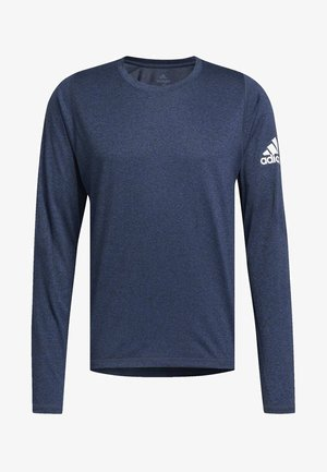 FREELIFT SPORT HEATHER BADGE OF SPORT LONG-SLEEVE TOP - Funktionströja - mottled blue