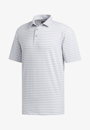 ADIPURE ESSENTIAL STRIPE POLO SHIRT - Funktionsshirt - grey