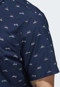 adidas Golf - ADICROSS SHIRT - Shirt - blue - 4