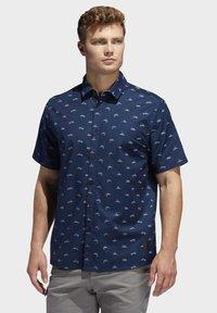 adidas Golf - ADICROSS SHIRT - Shirt - blue - 0