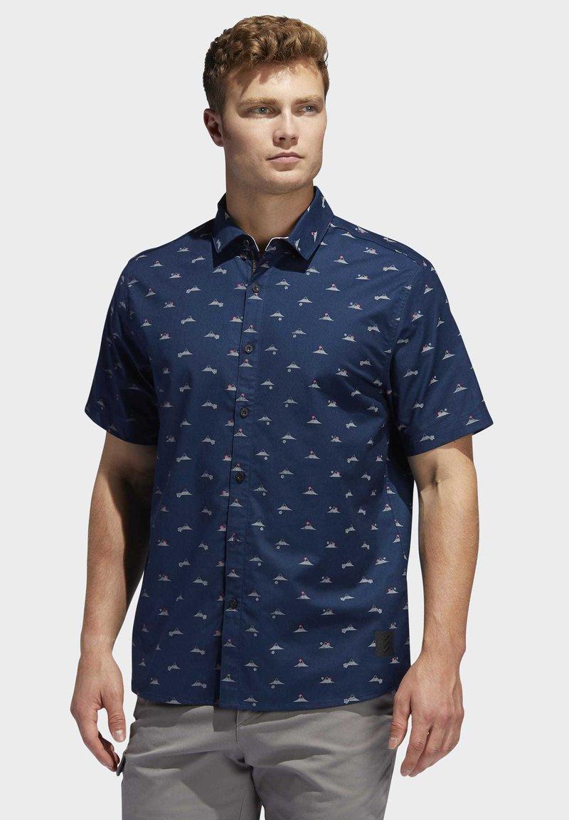 adidas Golf - ADICROSS SHIRT - Shirt - blue