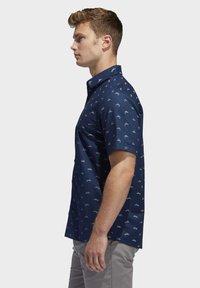 adidas Golf - ADICROSS SHIRT - Shirt - blue - 2