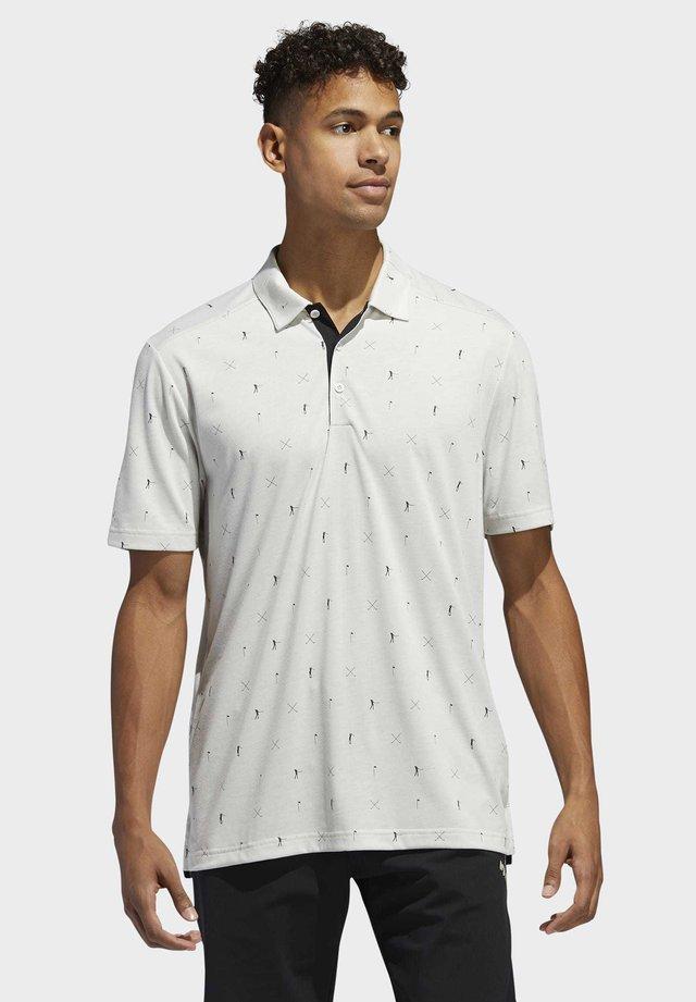 ADICROSS DRIVE POLO SHIRT - Koszulka sportowa - grey