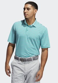 adidas Golf - ADIPURE ESSENTIAL STRIPE POLO SHIRT - Sports shirt - green - 3