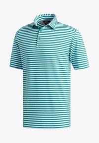 adidas Golf - ADIPURE ESSENTIAL STRIPE POLO SHIRT - Sports shirt - green - 7