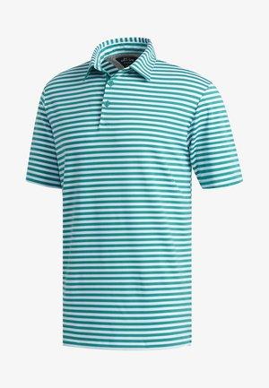 ADIPURE ESSENTIAL STRIPE POLO SHIRT - Treningsskjorter - green