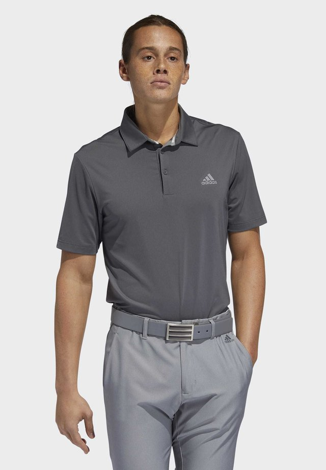 ULTIMATE365 2.0 SOLID POLO SHIRT - Funktionstrøjer - grey