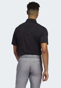 adidas Golf - ULTIMATE365 2.0 SOLID POLO SHIRT - Funktionstrøjer - black - 1
