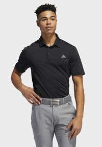 adidas Golf - ULTIMATE365 2.0 SOLID POLO SHIRT - Funktionstrøjer - black - 0