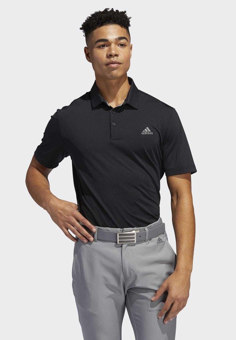 adidas Golf - ULTIMATE365 2.0 SOLID POLO SHIRT - Funktionstrøjer - black