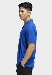 adidas Golf - ADICROSS DRIVE POLO SHIRT - Sports shirt - blue - 2