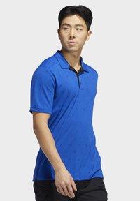 adidas Golf - ADICROSS DRIVE POLO SHIRT - Sports shirt - blue - 3