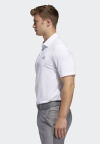 adidas Golf - ULTIMATE365 2.0 SOLID POLO SHIRT - Funktionstrøjer - white - 2