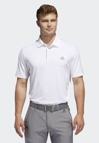 adidas Golf - ULTIMATE365 2.0 SOLID POLO SHIRT - Funktionstrøjer - white - 0
