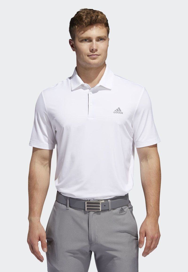 adidas Golf - ULTIMATE365 2.0 SOLID POLO SHIRT - Funktionstrøjer - white
