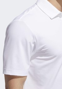 adidas Golf - ULTIMATE365 2.0 SOLID POLO SHIRT - Funktionstrøjer - white - 5
