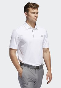 adidas Golf - ULTIMATE365 2.0 SOLID POLO SHIRT - Funktionstrøjer - white - 3