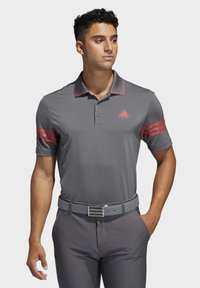 adidas Golf - ULTIMATE365 BLOCKED POLO SHIRT - T-shirt de sport - grey - 0