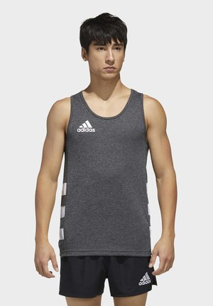 RUGBY SINGLET - Top - gray