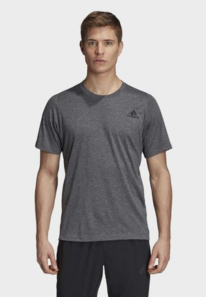 FREELIFT SPORT PRIME HEATHER T-SHIRT - T-shirt basique - black