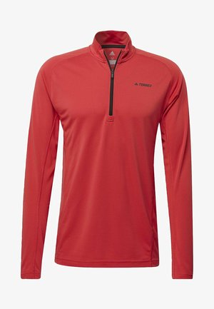 TRACE ROCKER LONG-SLEEVE TOP - Sports shirt - red