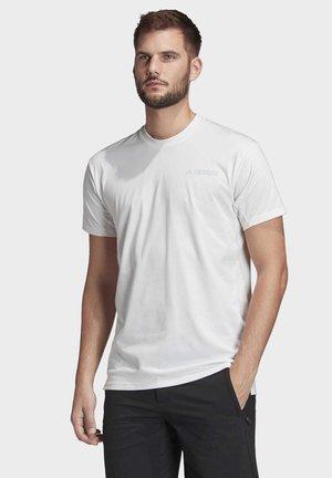 TERREX PRIMEBLUE LOGO T-SHIRT - Basic T-shirt - white