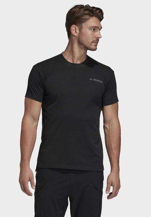 TERREX PRIMEBLUE LOGO T-SHIRT - Basic T-shirt - black