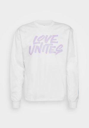 PRIDE UNITES  - Top sdlouhým rukávem - white