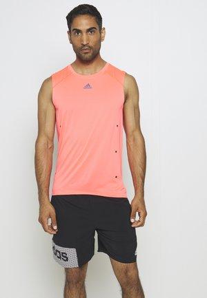 ADIZERO HEAT.RDY SPORTS RUNNING SINGLET TANK - Camiseta de deporte - sigpnk