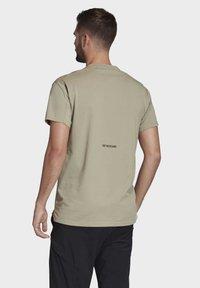 adidas Performance - TERREX PRIMEBLUE LOGO T-SHIRT - Print T-shirt - grey - 2