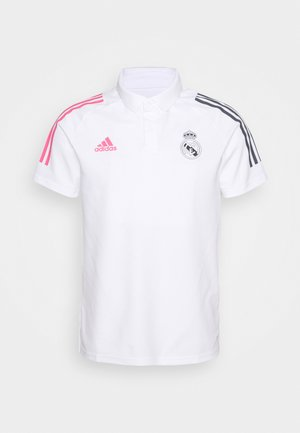 REAL MADRID SPORTS FOOTBALL SHORT SLEEVE - Club wear - white