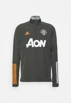 MANCHESTER UNITED AEROREADY FOOTBALL  - Forro polar - olive