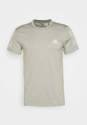 AEROREADY TRAINING SPORTS SHORT SLEEVE TEE - Print T-shirt - grey