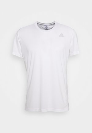 RESPONSE AEROREADY RUNNING SHORT SLEEVE TEE - T-shirt imprimé - white