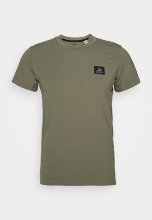 TRAINING SLIM SHORT SLEEVE TEE - Treningsskjorter - green