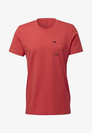 TERREX GRAPHIC T-SHIRT - T-shirts print - red