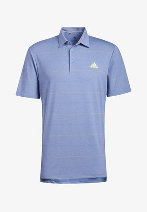 ULTIMATE365 HEATHERED STRIPE POLO SHIRT - Poloshirts - blue