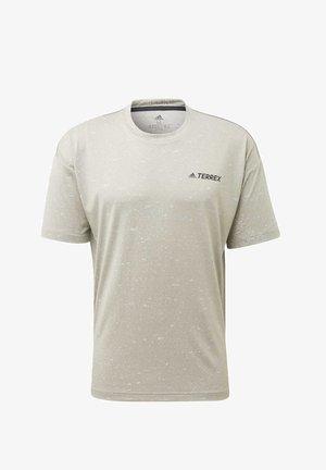 TERREX HIKE T-SHIRT - T-shirt imprimé - grey
