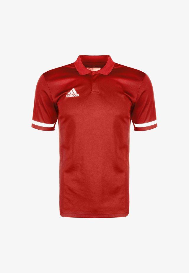 TEAM 19 POLOSHIRT HERREN - T-shirt de sport - power red / white