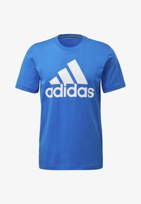 adidas Performance - MUST HAVES BADGE OF SPORT T-SHIRT - T-shirts med print - blue - 8