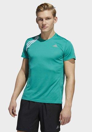 RUN IT 3-STRIPES T-SHIRT - Sportshirt - green