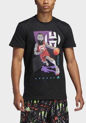 HARDEN DRIVE GEEK UP T-SHIRT - T-Shirt print - black