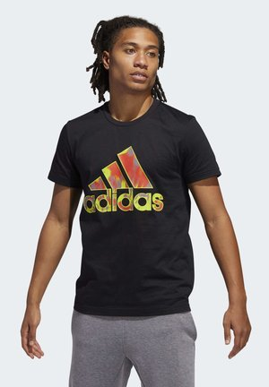 SUMMER BADGE OF SPORT T-SHIRT - T-Shirt print - black