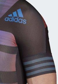 adidas Performance - ADISTAR PRIDE JERSEY - T-Shirt print - black - 7