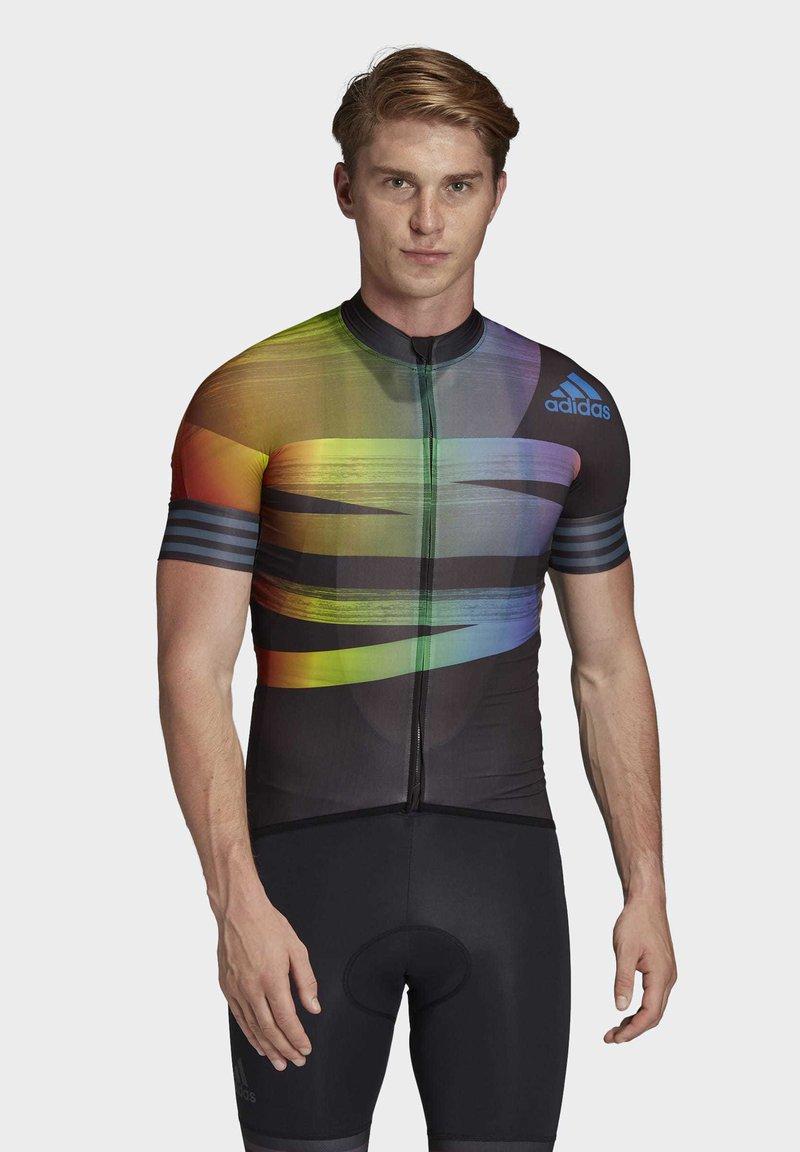 adidas Performance - ADISTAR PRIDE JERSEY - T-Shirt print - black