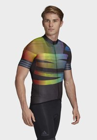 adidas Performance - ADISTAR PRIDE JERSEY - T-Shirt print - black - 4